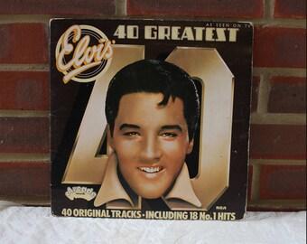 Elvis Presley, Elvis' 40 Greatest, vinyl record