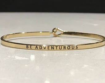 The inspired bangle ( be adventurous)