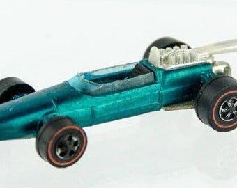 Vintage Original 1969 Hot Wheels Brabham Repco F1 Diecast Model Car Hong Kong HK