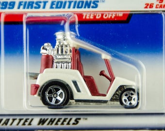Hot Wheels 1999 First Editions TEE'D OFF #9 of 26 1/64 Diecast