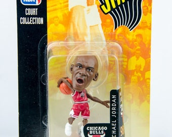 Mattel NBA Jams Court Collection Michael Jordan Figure Chicago Bulls