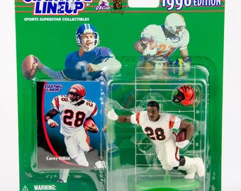 Starting Lineup NFL 1998 Corey Dillon Action Figure Cincinnati Bengals