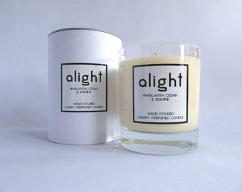 Himalayan Cedar & Jasmine - Luxury Hand Poured Scented Container Candle