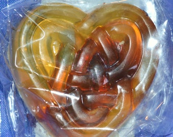 Adoration Triquetra Heart Reiki Charged Soap
