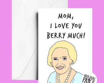 Mary berry Mother's Day card