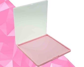 L Makeup Palette Pink - Magnetic - Fits 25 Eyeshadows*
