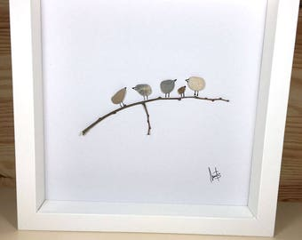 Box Stones branch with birds