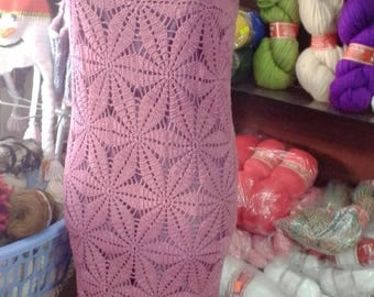 Elegant handmade cotton dress
