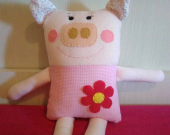 Decorative pillow for kids ' bedroom furniture, animal-shaped, soft toy, stuffed animal, handmade, kids gift,