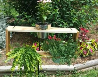 Hanging herb garden , Flower planter , succulent planter , cedar planter. Indoor or outdoor