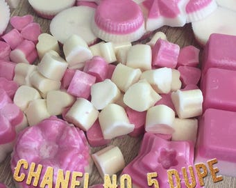 Chanel No. 5 scencted soy wax melts. Pack of 6 melts