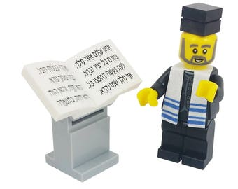 Lego® Cantor Berel - Jewish Custom Lego® Set from JBrick
