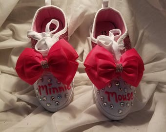 Girls Bling Dress Up Sneakers size 13