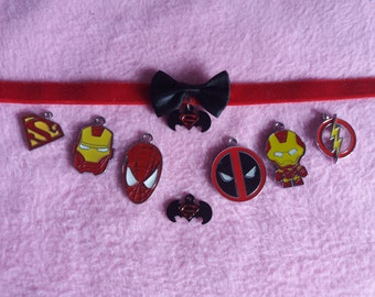 Super hero chokers