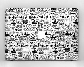 Harry Potter Harry Potter MacBook Harry Potter Decal MacBook Skin MacBook Air MacBook Pro MacBook Air Skin MacBook Case Laptop Case MacBook
