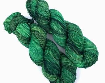 Fangorn - 115 g- Ready to ship hand dyed DK yarn