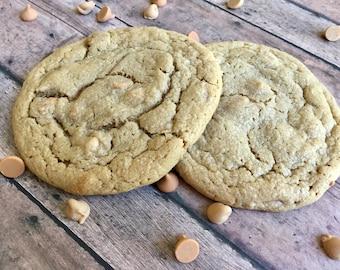 Chewy Peanut Butterscotch - 1 Dozen Gourmet Bakery Size Cookies