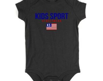 Kids Streetwear Kids Sport Infant Onesie Bodysuit