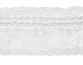 Expo 5 yards of Ruffle Lace Trim