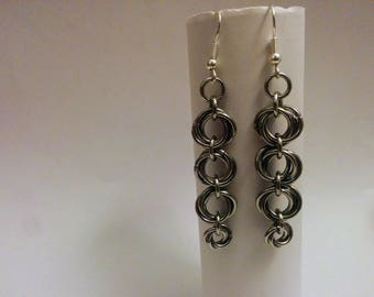 Various Styles Of Chainmail Earrings