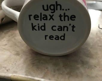 Funny mom mug