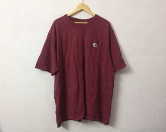 SALE ! Vintage CARHARTT t shirt small logo
