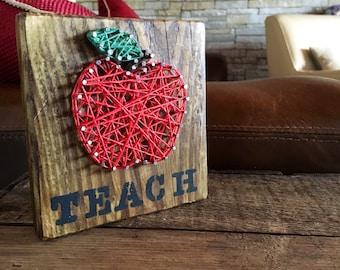 Teacher Wooden Block Gift