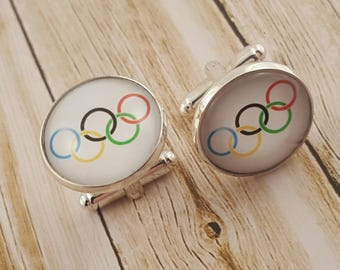Olympic Rings Cufflinks