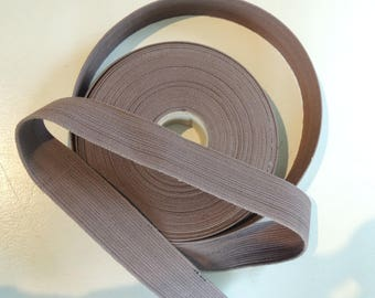 Strap bagagere width 40 mm Brown cotton