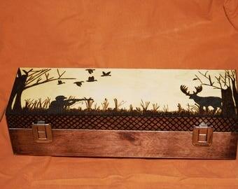 Wooden Deer Hunter Box