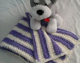 Soft and cuddly baby blanket