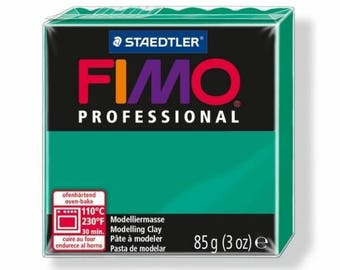 85 g Professional green 8004.500 - Fimo polymer clay