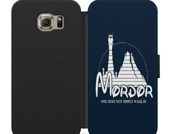 Lord of the rings disney flip wallet phone case for iphone 4 5 6 7, Samsung s2 s3 s4 s5 s6 s7 plus more