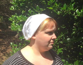 Linen Cap inspired by Handmaid's Tale