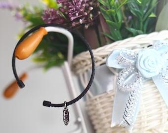 C- Cuff Bracelet ( Matte Black)