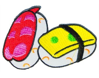 Sushi Food Japan Patch W.Ch.Patch