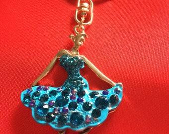 Beautiful Ballet Dancer Key Ring