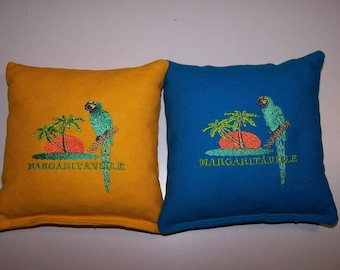 Embroidered Margaritaville Cornhole Bags Set of Eight - Sweet