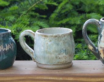Rustic White Mug