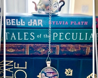 Books & Tea Teapot Infuser