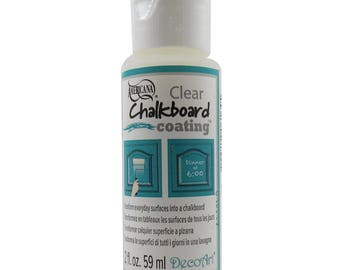 Americana Clear Coating Blackboard Chalkboard Paint 59ml (2oz) - DS107