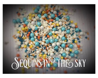 Sprinle Mix Sequins in the Sky 125g