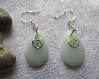 Amazonite Ear Rings
