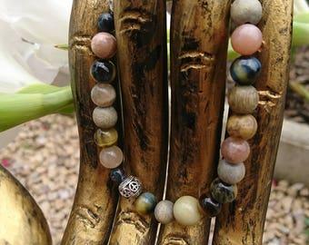 Men Tibetan Mala bracelet! extra! unique!