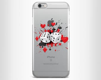 Iphone 7 case iphone 7 plus case iphone 6 case iphone 6s case iphone 6 plus case iphone 6s plus case iphone 5/5s clear red cool card case