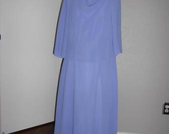 Danny & Nicole woman's chiffon lavender dress size 10