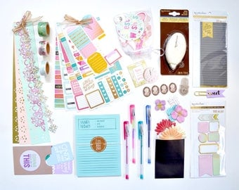 Live A Colorful Life Planner Accessories Kit | Planner Accessories | Planner Stickers