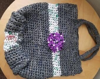 Plarn shopping bag