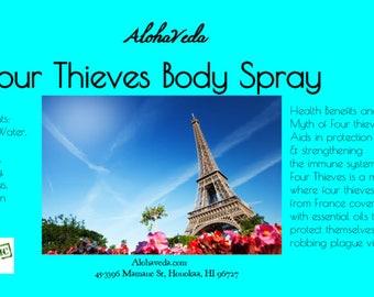 Four Thieves Body Spray