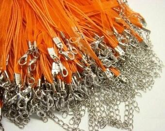 Orange Ribbon Cords